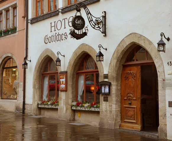 Our 4 Star Hotel With A Historical Twist In Rothenburg Ob