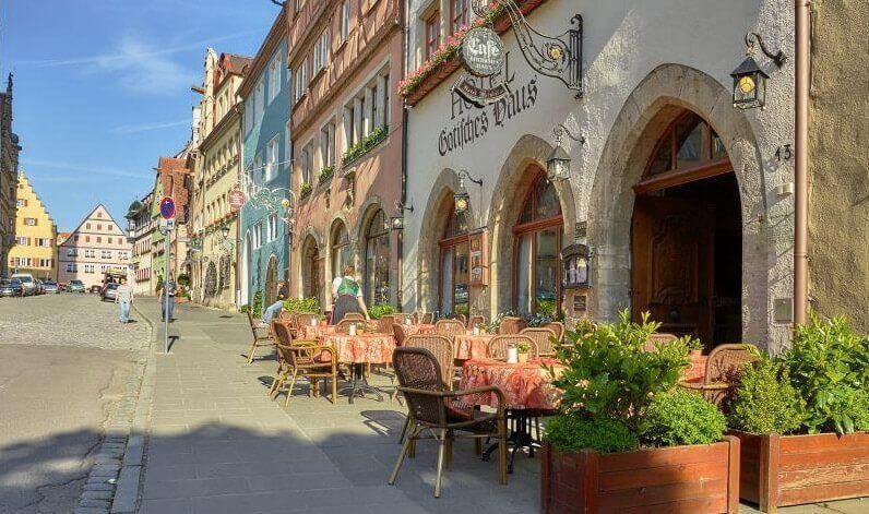 Gotisches Haus – das historische Hotel in Rothenburg ob