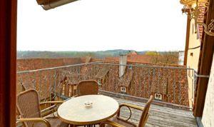 Balkon von Zimmer 30